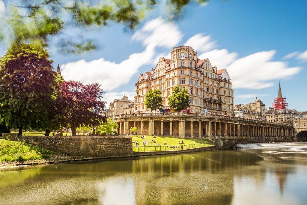 castle in Bath England